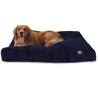 Majestic Pet Navy Villa Rectangle Pet Bed