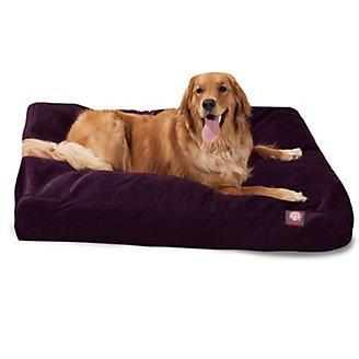 Majestic Pet Aubergine Rectangle Pet Bed