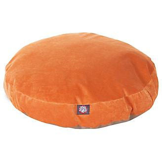 Majestic Pet Orange Villa Round Pet Bed