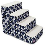 Majestic Pet Navy Blue Links Pet Stairs