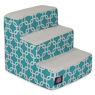 Majestic Pet Teal Links Pet Stairs