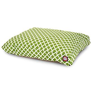 Majestic Outdoor Sage Bamboo Rectangle Pet Bed