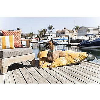 Majestic Outdoor Yellow Coral Rectangle Pet Bed