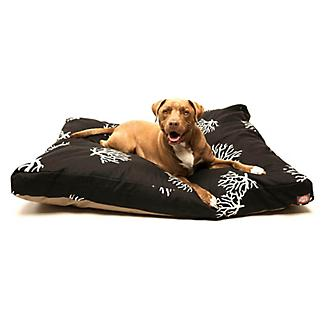 Majestic Outdoor Black Coral Rectangle Pet Bed