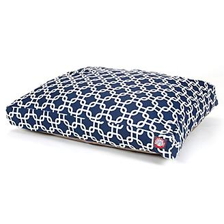 Majestic Outdoor Navy Links Rectangle Pet Bed