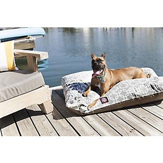 Majestic Outdoor Gray Links Rectangle Pet Bed