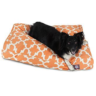 Majestic Outdoor Peach Trellis Rectangle Pet Bed