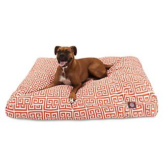 Majestic Outdoor Orange Towers Rectangle Pet Bed