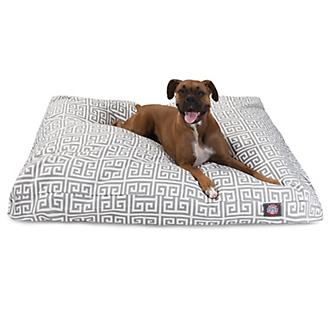 Majestic Outdoor Grey Towers Rectangle Pet Bed