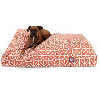 Majestic Outdoor Orange Aruba Rectangle Pet Bed