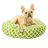 Majestic Pet Outdoor Sage Bamboo Round Pet Bed