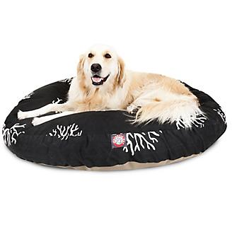 Majestic Pet Outdoor Black Coral Round Pet Bed