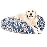 Majestic Outdoor Navy French Qtr Round Pet Bed
