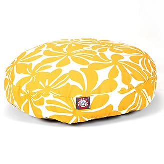 Majestic Outdoor Yellow Plantation Round Pet Bed