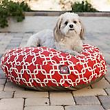 Majestic Pet Outdoor Red Links Round Pet Bed