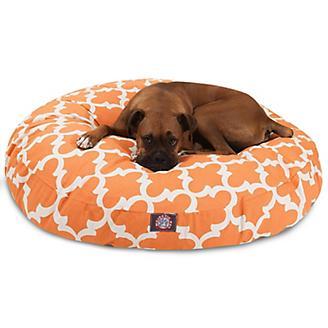 Majestic Pet Outdoor Peach Trellis Round Pet Bed