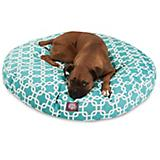 Majestic Pet Outdoor Teal Links Round Pet Bed