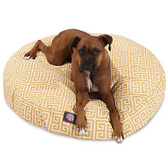 Majestic Outdoor Citrus Towers Round Pet Bed