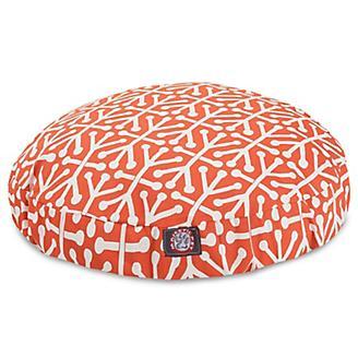 Majestic Pet Outdoor Orange Aruba Round Pet Bed