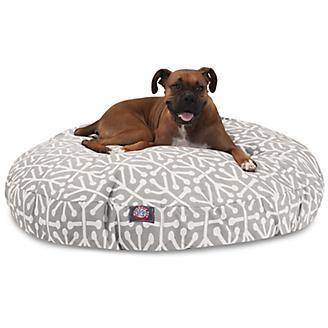 Majestic Pet Outdoor Grey Aruba Round Pet Bed