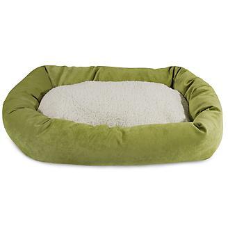 Majestic Pet Apple Villa Sherpa Bagel Bed