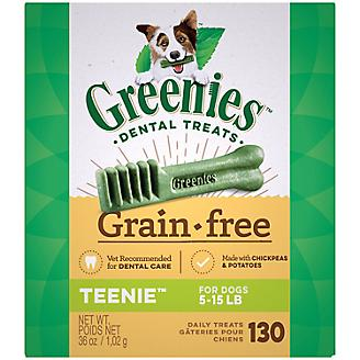 Greenies Grain Free Dog Dental Chew Teenie