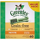 Greenies Grain Free Dog Dental Chew Petite