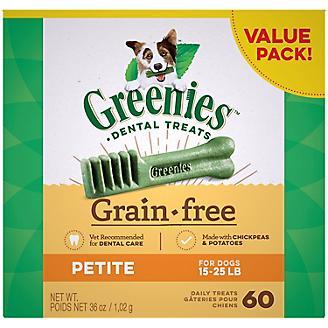 Greenies Grain Free Dog Dental Chew Petite