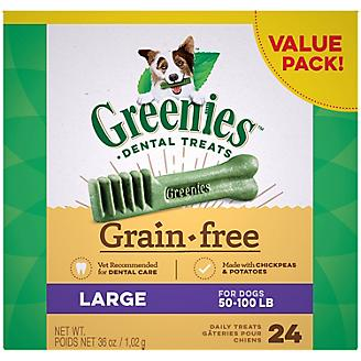 Greenies Grain Free Dog Dental Chew Large