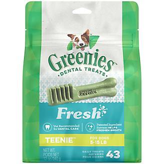 GREENIES Fresh Dog Dental Chew Teenie