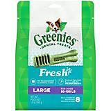 GREENIES Fresh Dog Dental Chew Large