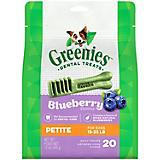 Greenies Blueberry Dog Dental Chew Petite