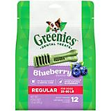 Greenies Blueberry Dog Dental Chew Regular