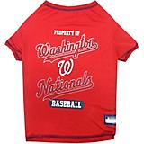 MLB Washington Nationals Dog Tee Shirt