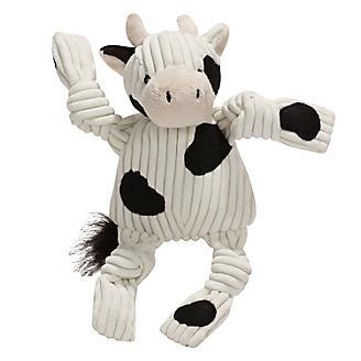 Hugglehounds Barnyard Knotties Cow Dog Toy