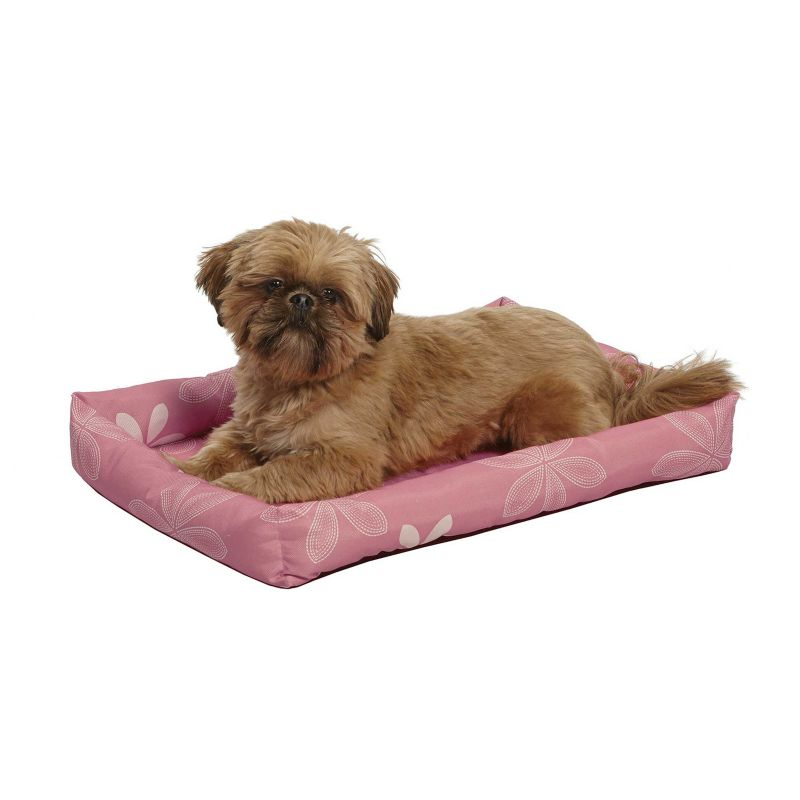 Midwest Pink Floral Paradise Dog Bed 24 inch