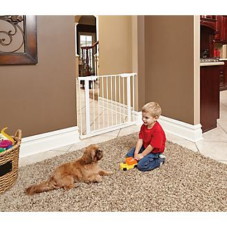 Midwest White Steel Pet Gate