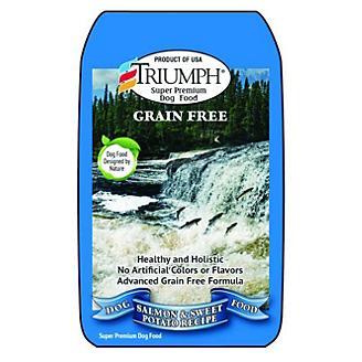 Triumph Grain Free Salmon Dry Dog Food