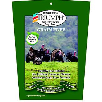 Triumph Grain Free Turkey Dry Dog Food