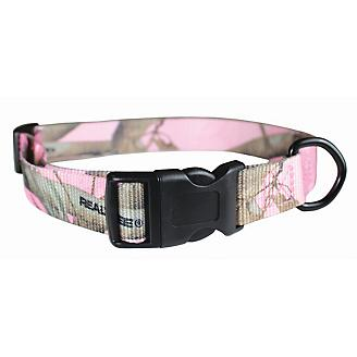 Realtree Pink Camo Nylon Dog Collar