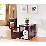 Elegant Home Fashions Mason End Table Dog Crate