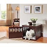 Elegant Home Fashions Titan End Table Dog Crate