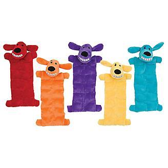 Loofa Squeaker Mat Plush Dog Toy