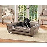 Enchanted Home Pet Rockwell Pewter Dog Bed