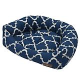 Jax and Bones Monaco Indigo Napper Dog Bed Small