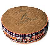Touchdog Bark Royale Light Brown Fleece Dog Bed