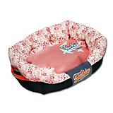 Touchdog Floral Galore Pink Dog Bed