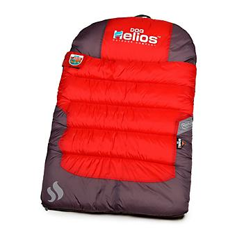 Helios Trail Barker Red Travel Dog Bed