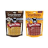 SmartBones Stuffed Twistz Dog Chew