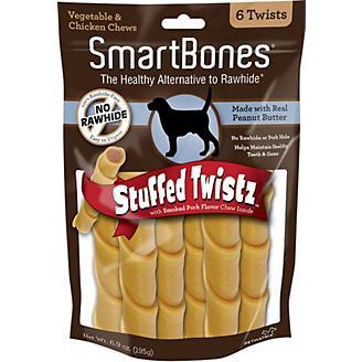 SmartBones Stuffed Twistz Dog Chew